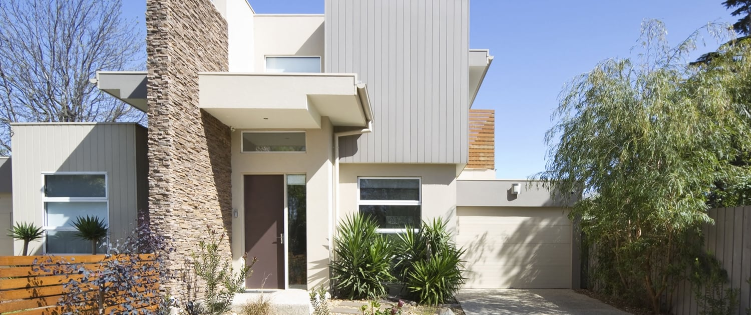 House Renovations - Double Story Contemporary Designed Townhouse